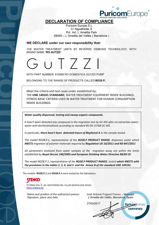 Certyfikat gutzzi 2